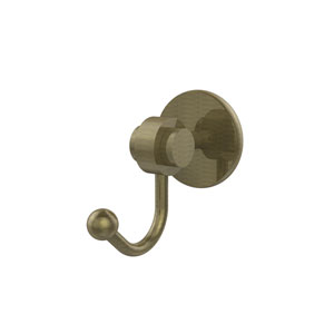 Satellite Orbit Two Collection Robe Hook, Antique Brass