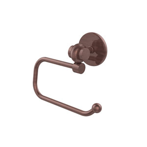 Satellite Orbit Two Collection Euro Style Toilet Tissue Holder with Twisted Accents, Antique Copper