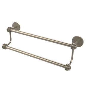 24 Inch Double Towel Bar, Antique Pewter