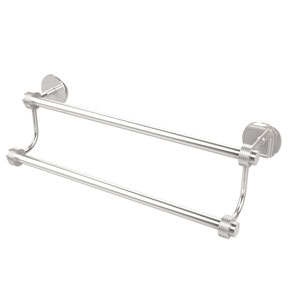 24 Inch Double Towel Bar, Polished Chrome