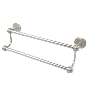 30 Inch Double Towel Bar, Polished Nickel