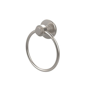 Mercury Satin Nickel Towel Ring