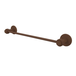 Mercury Collection 18 Inch Towel Bar with Groovy Accent, Antique Bronze