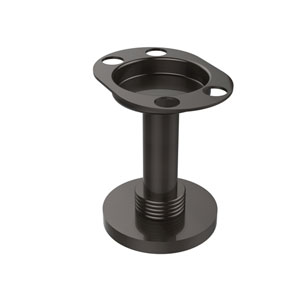 Vanity Top Tumbler and Toothbrush Holder, Oil Rubbed Bronze