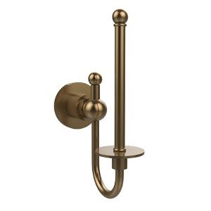 Astor Place Brushed Bronze Upright Tissue Holder