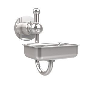 Polished Chrome Wall-Mounted Soap Dish