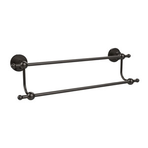 Astor Place Oil Rubbed Bronze 24 Inch Double Towel Bar