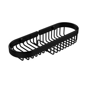 Combination Wire Basket, Matte Black
