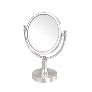 8 Inch Vanity Top Make-Up Mirror 2X Magnification, Polished Chrome
