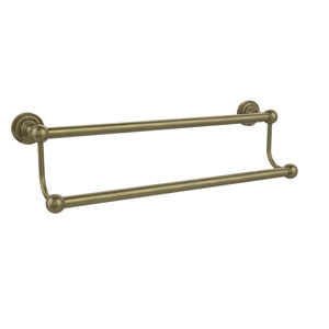 Dottingham Antique Brass Double Towel Bar