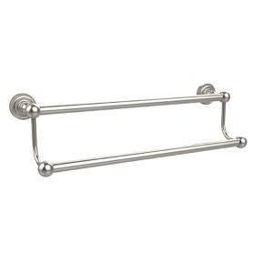 Satin Nickel 36-Inch Double Towel Bar