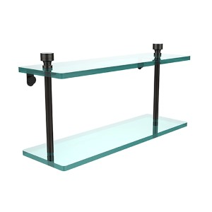Foxtrot Oil Rubbed Bronze Double Shelf