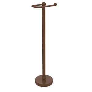 Free Standing Toilet Tissue Holder, Antique Bronze