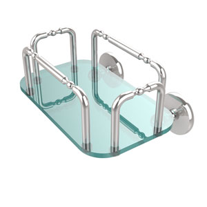Skyline Wall Mounted Guest Towel Holder, Polished Chrome