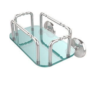 Monte Carlo Wall Mounted Guest Towel Holder, Polished Chrome
