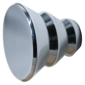 Style H Polished Chrome Designer Cabinet Knob