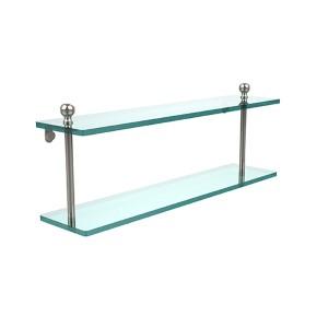 Mambo Polished Nickel Double Shelf