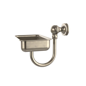 Mambo Collection Wall Mounted Soap Dish, Antique Pewter