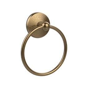 Monte Carlo Brushed Bronze Towel Ring