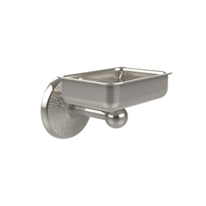 Monte Carlo Collection Wall Mounted Soap Dish, Polished Nickel