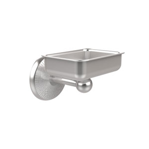 Monte Carlo Collection Wall Mounted Soap Dish, Satin Chrome
