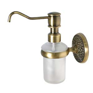 Monte Carlo Antique Brass Soap Dispenser
