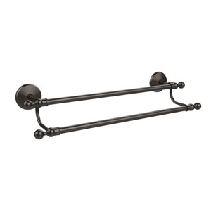 Monte Carlo Collection 24 Inch Double Towel Bar, Oil Rubbed Bronze