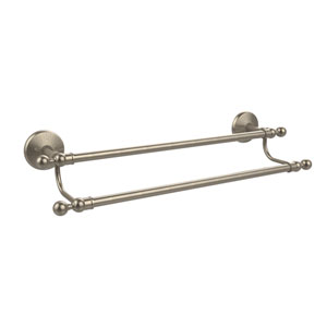 Monte Carlo Collection 24 Inch Double Towel Bar, Antique Pewter