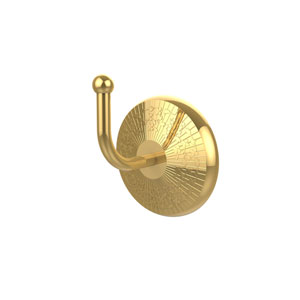 Monte Carlo Polished Brass Utility Hook