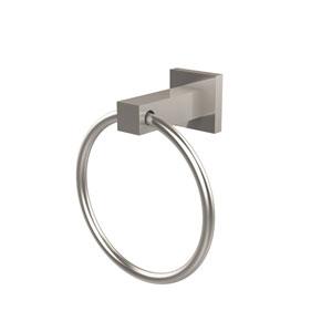 Montero Satin Nickel Towel Ring