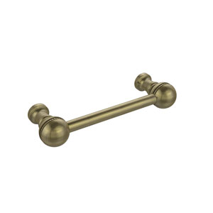 3 Inch Beaded Cabinet Pull, Antique Brass