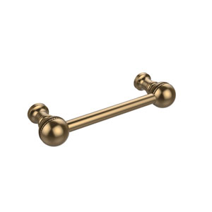 3 Inch Beaded Cabinet Pull, Brushed Bronze