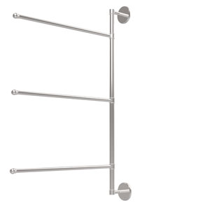 Prestige Skyline Collection 3 Swing Arm Vertical 28 Inch Towel Bar, Polished Chrome