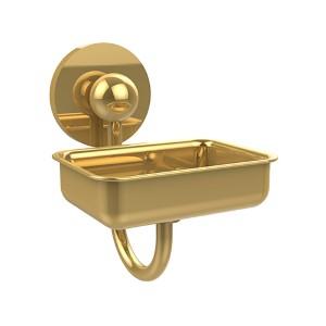 Prestige Skyline Polished Brass Wall-Mounted Soap Dish