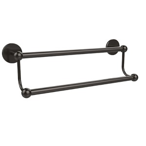 Oil Rubbed Bronze 24-Inch Double Towel Bar