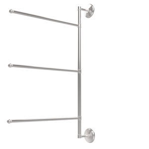 Prestige Monte Carlo Collection 3 Swing Arm Vertical 28 Inch Towel Bar, Polished Chrome