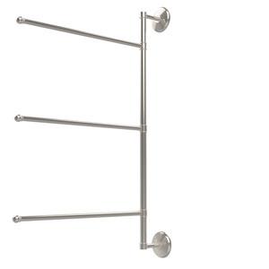 Prestige Monte Carlo Collection 3 Swing Arm Vertical 28 Inch Towel Bar, Polished Nickel