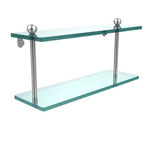Prestige Regal Satin Chrome Double Shelf