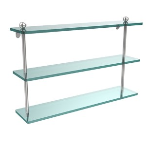 Polished Chrome Prestige Regal 22-Inch Triple Shelf