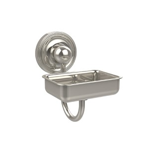 Polished Nickel Soap Dish w/ Glass Liner
