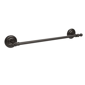 Que New Collection 18 Inch Towel Bar, Oil Rubbed Bronze