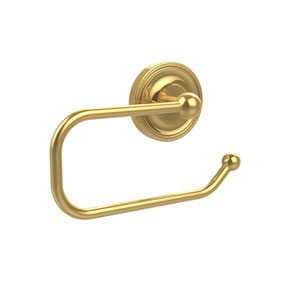 Regal Collection European Style Toilet Tissue Holder, Polished Brass