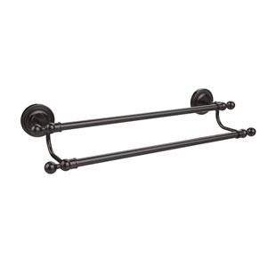 Regal Collection 24 Inch Double Towel Bar, Oil Rubbed Bronze