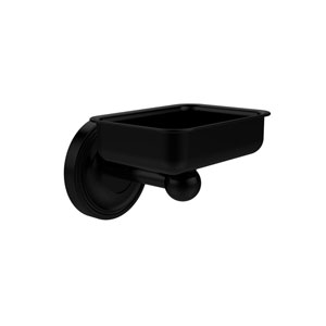 Regal Collection Wall Mounted Soap Dish, Matte Black