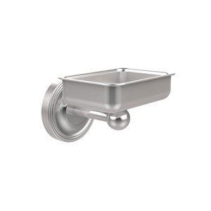 Regal Collection Wall Mounted Soap Dish, Satin Chrome