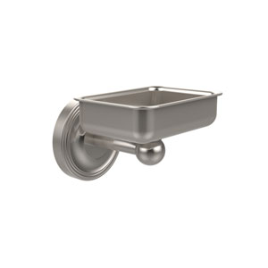 Regal Collection Wall Mounted Soap Dish, Satin Nickel