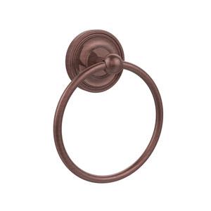 Antique Copper Towel Ring