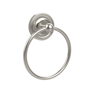 Polished Nickel Towel Ring