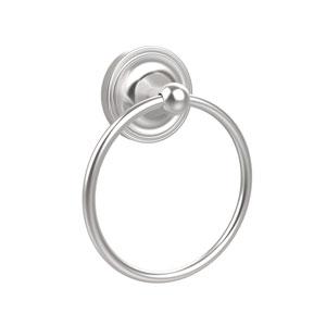 Satin Chrome Towel Ring