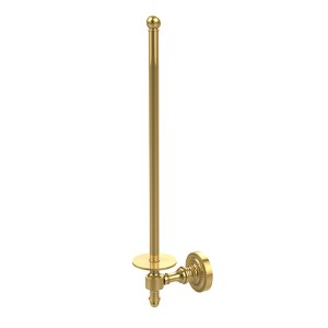 Polished Brass Wall-Mounted Paper Towel Holder